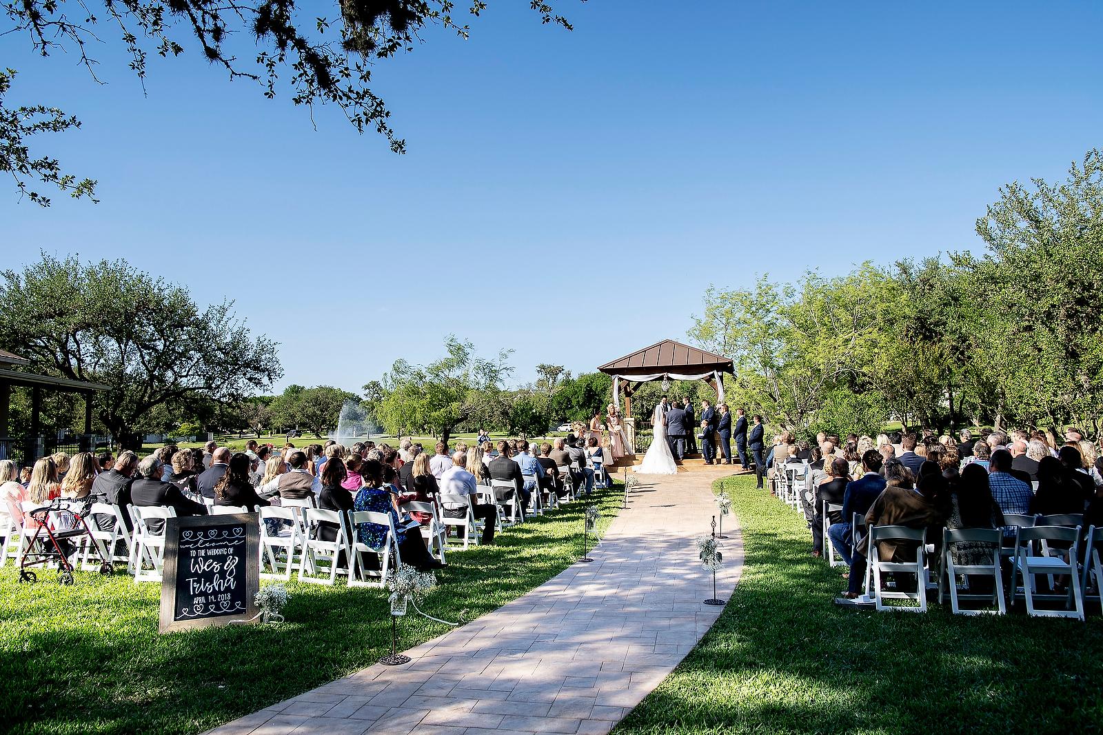 trisha wesley wedding at the club at garden ridge john